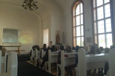 Fremlæggelse i kirken
